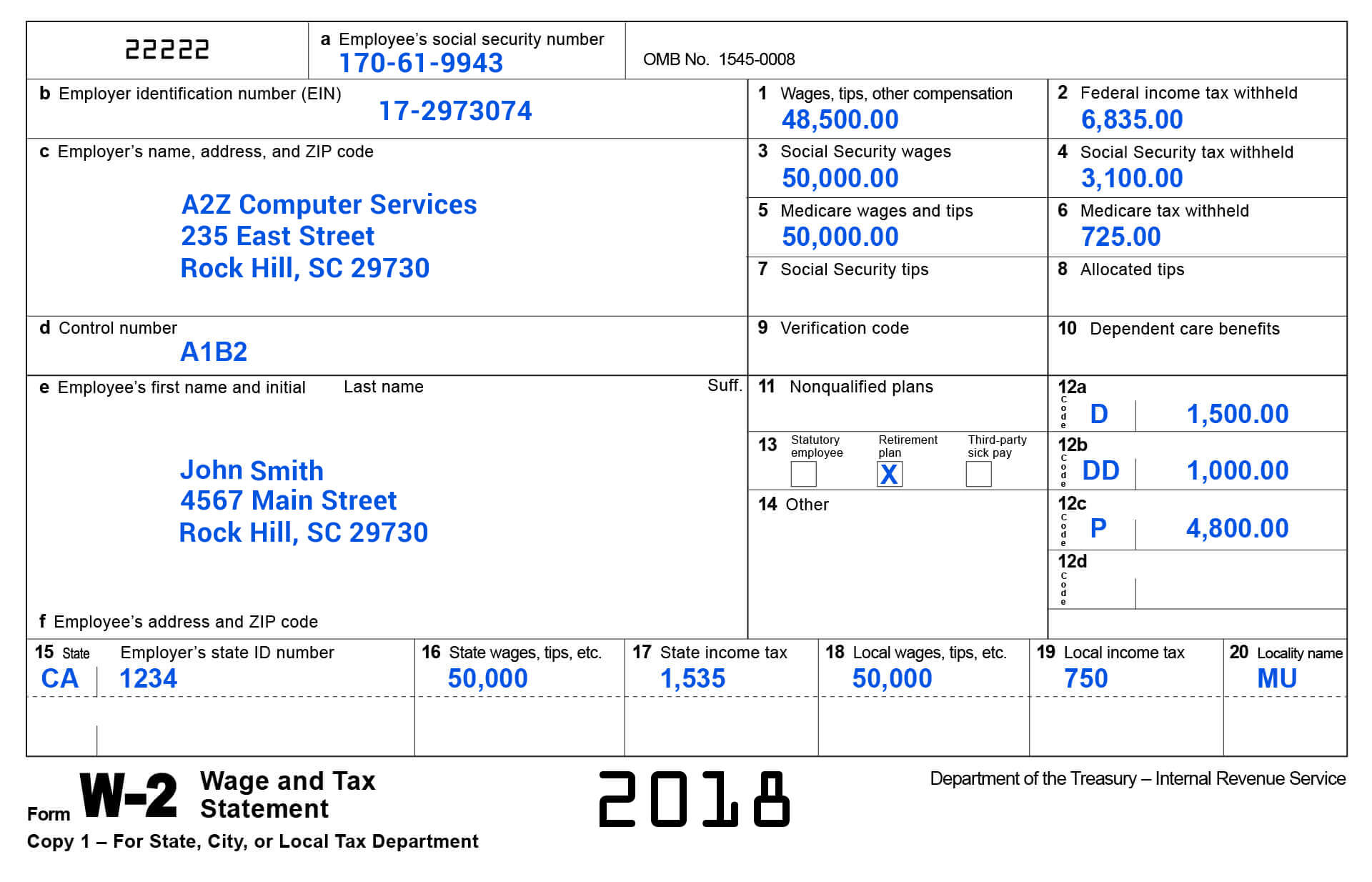 Understanding Employer Form W-2 & Its Filing Requirements